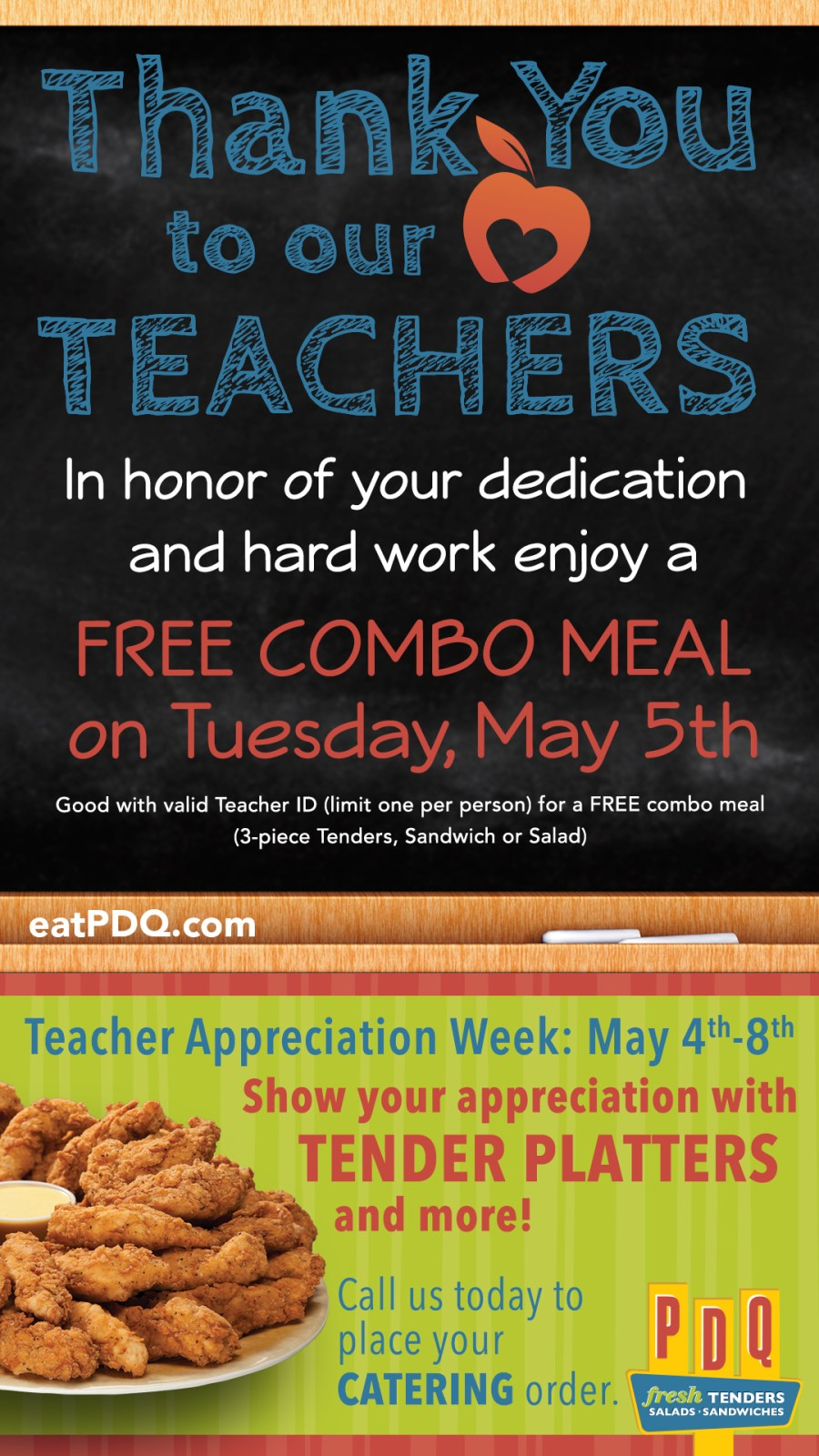 hotdeals, teacher appreciation