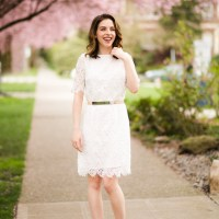 How to Wear a White Dress Without Looking Bridal