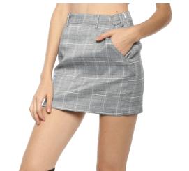 Gab & Kate Check Yourself Mini Skirt