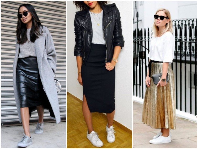 How To Wear Sneakers To Work And Look Professional