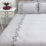 Sheraton Scroll 300TC Embroidered Duvet Cover Set