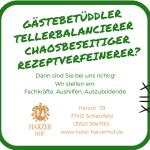 Stellenangebot Gastronomie im Harzer Hof