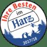 """Platz 3 für das hoftheater Scharzfeld bei """"Ihre Besten im Harz"""""""