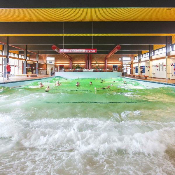 Schwimmbad in Hooksiel
