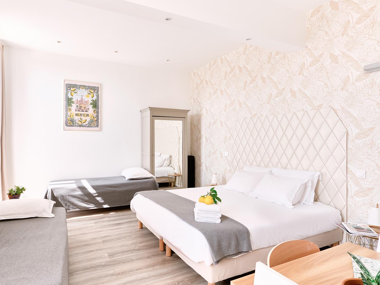 Hôtel Lemon - Menton - Chambre Famille