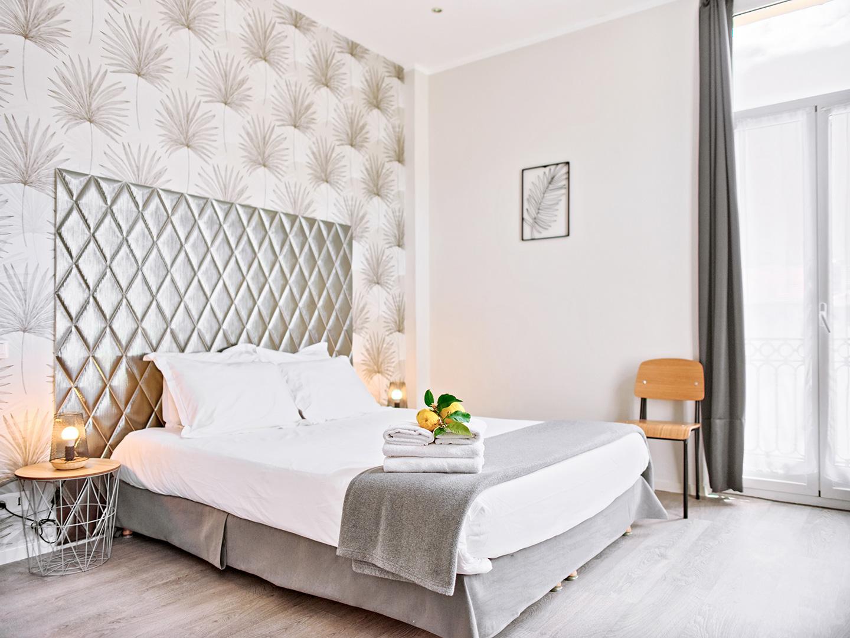 Hôtel Lemon - Menton - Chambre vue jardin 1