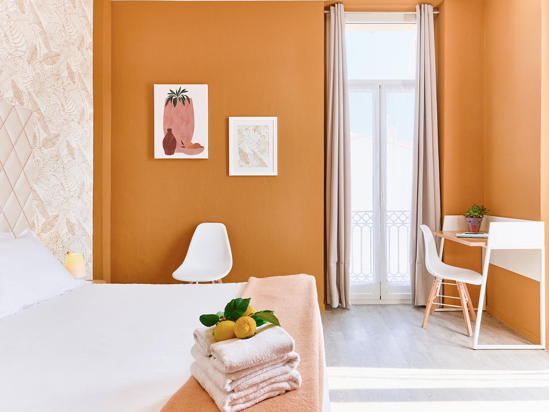 Hôtel Lemon - Menton - Chambre vue jardin 2