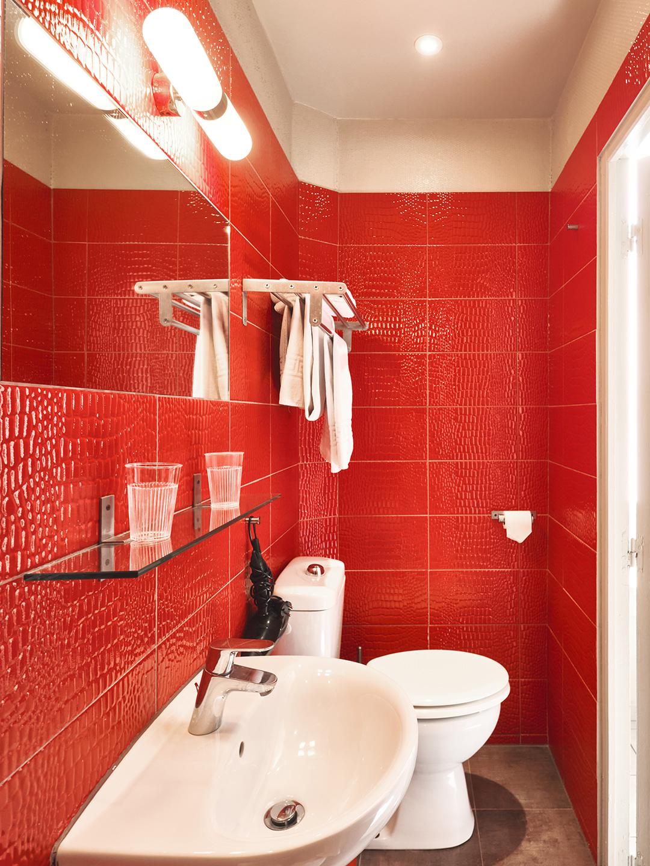 Hôtel Lemon - Menton - Salle de bain et toilettes - Rez de chaussée