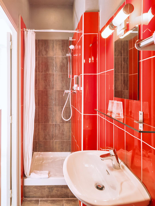 Hôtel Lemon - Menton - Salle de bain single