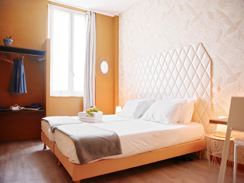 Hôtel Lemon - Menton - Chambre côté rue - 2