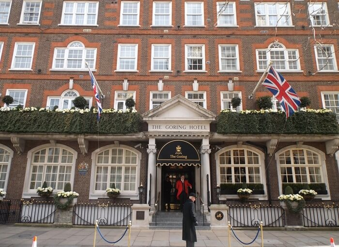 Long Live The Goring Hotel In London England