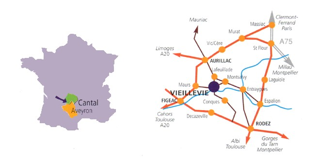 carte acces vieillevie