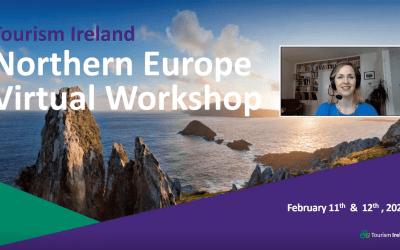 Tourism Ireland hosts virtual Northern European workshop