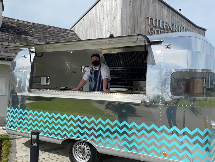 Tulfarris Hotel and Golf Resort Vintage Food Truck