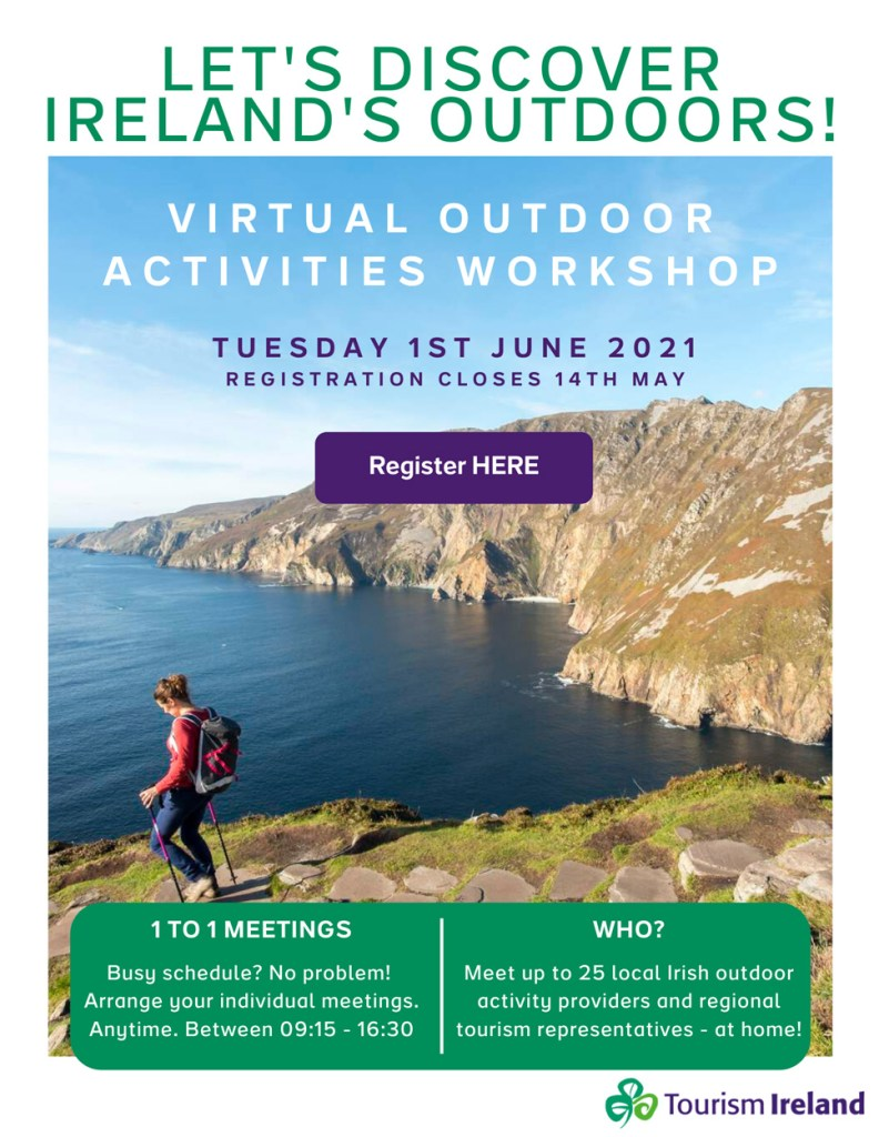 Tourism Ireland virtual workshop