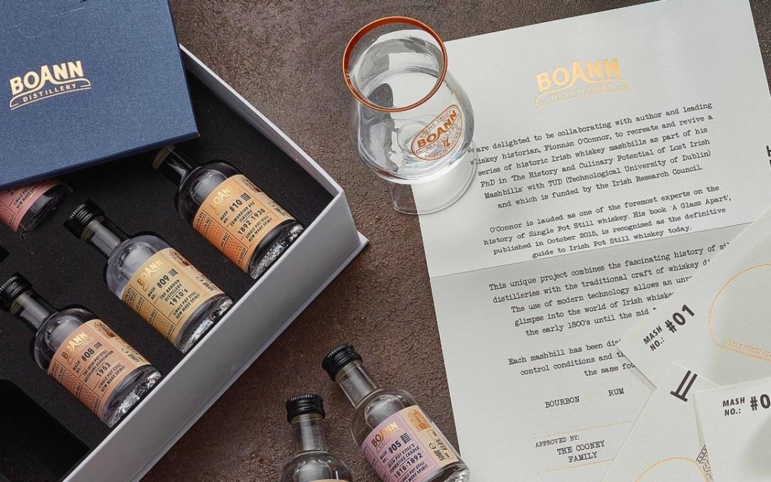 Boann Distillery's Mashbills to be Showcased at Major Whiskey Festival