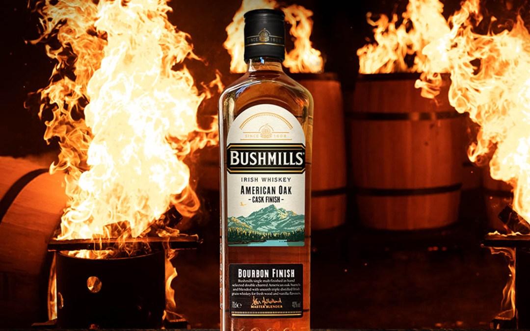 BushmillsUnveils New American Oak Cask Finish
