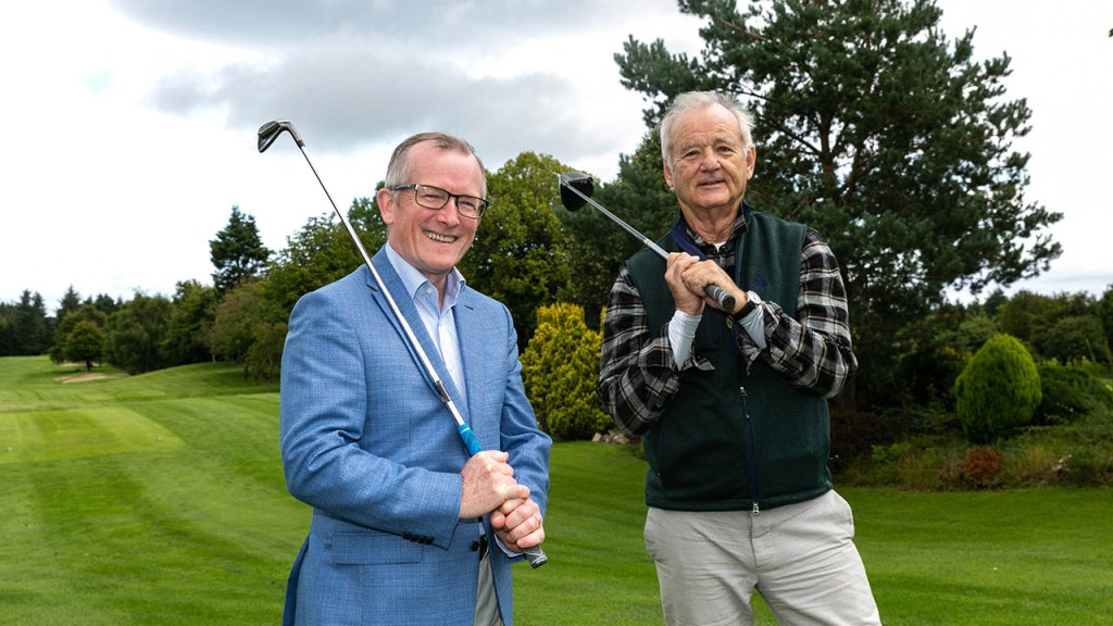 Actor Bill Murray helps put Ireland on the map