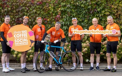 Bewley's in the saddle to raise funds for Bewley's Coffee Morning for Hospice