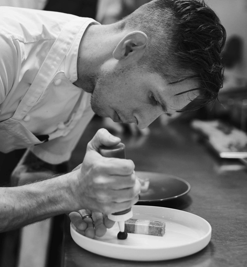 Mike Tweedie Brings His Michelin Star Food to You as Part of the Chef Supper Club with Quality Ingredients and Local Suppliers