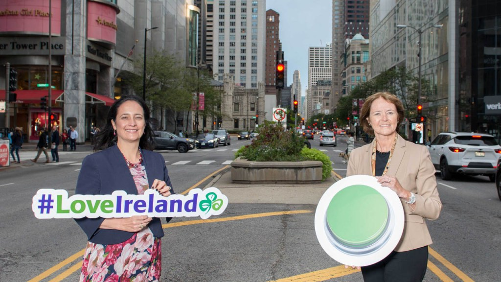 Tourism Minister Catherine Martin Promotes Ireland in the United States