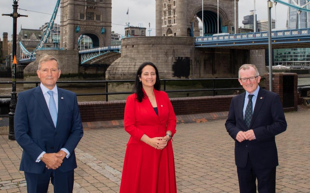 Tourism Minister Catherine Martin Promotes Ireland in London