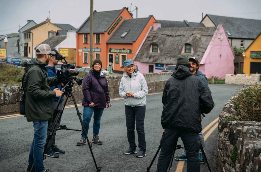 Italian TV show La7 shines a spotlight on Ireland