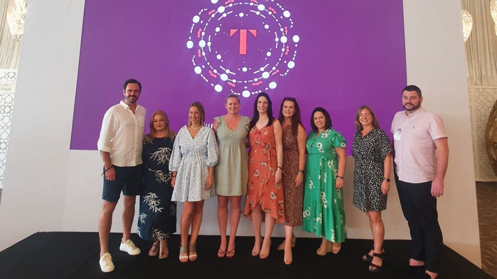 Targeting Luxury Travel Business Tourism Ireland and partners attend TFest in Dubai