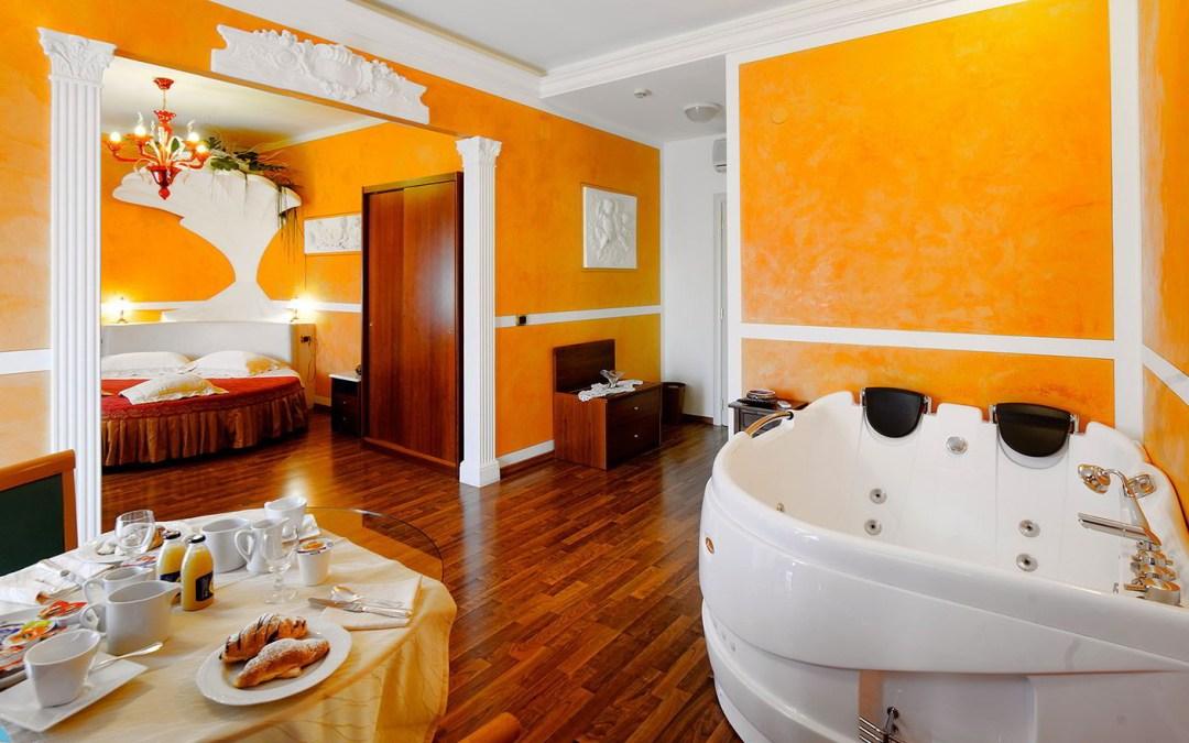 Soggiorno 2 notti in Suite con vasca idromassaggio con centro benessere e spa Umbria