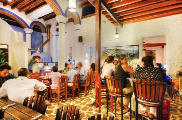 Ouzo Restaurant Santa Marta
