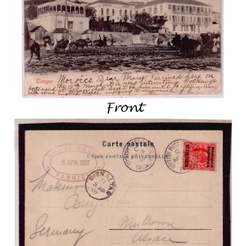 Hotel Cecil Post Card - from 1907