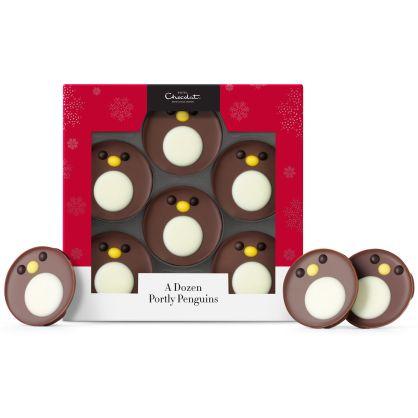 dozen penguin hotel chocolat