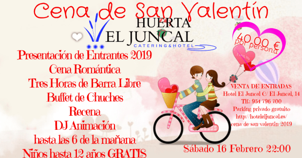 Oferta Cena San Valentín 2019