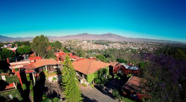 Panoramic of Morelia from the Hotel