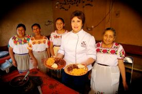 Chef and Kitchen team