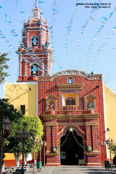 Hoteles-Boutique-en-Mexico-conociendo-cholula-a-pie-Santa-María-Tonanzintla