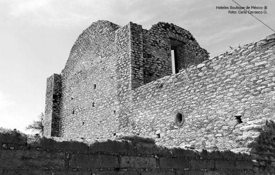 Ruinas en Mineral de Pozos