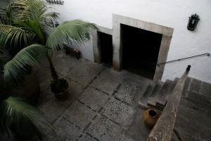 Innenhof des Landgutes