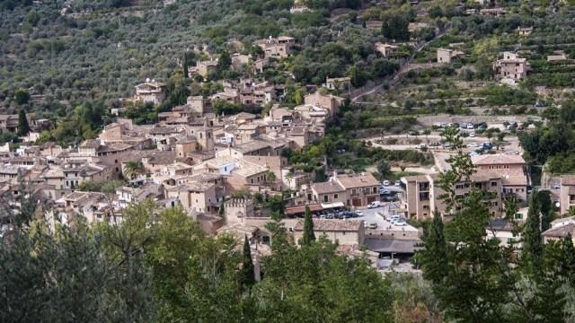 Pueblo de Fornalutx, Sóller. Fotografía obtenida de turinea.com