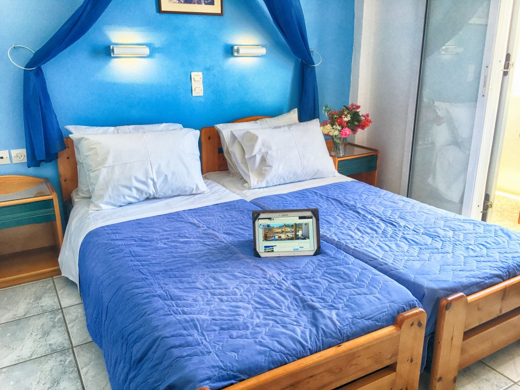 Double room with sea view - Helena Hotel Ios Cyclades Greece