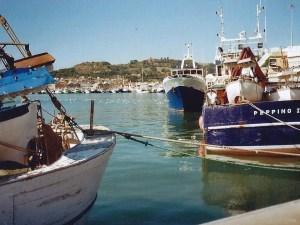Il porto peschereccio di San Benedetto