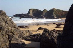 Playa el Barrigón (Colunga)