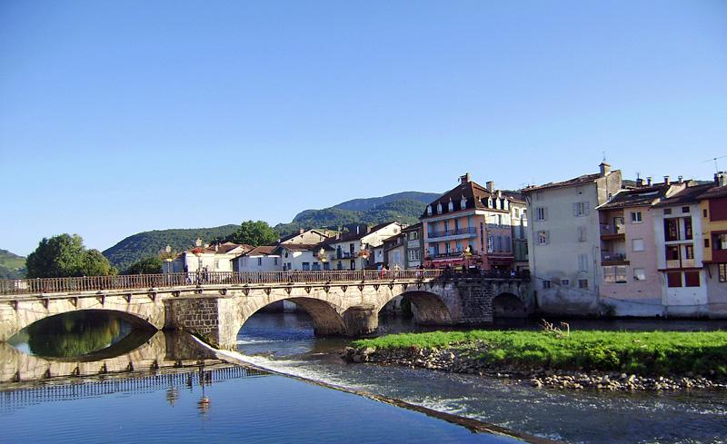Pont vieux St-Girons