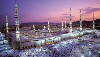 Medina, Islam's second holiest city, was originally a Jewish settlement