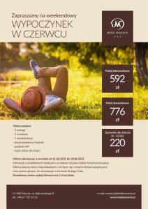 Weekend czerwcowy na Mazurach - oferta