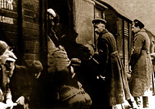 deportacija na evreite
