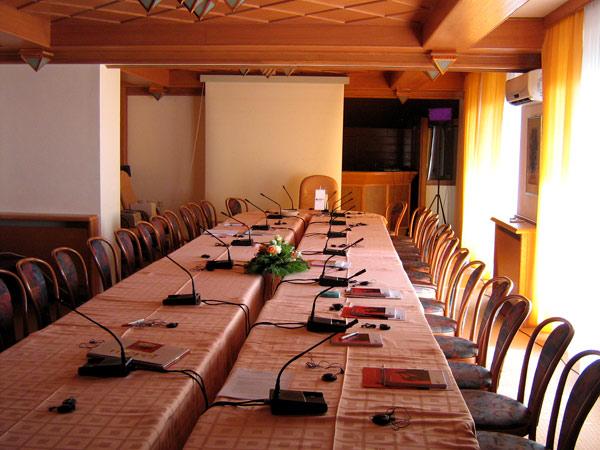 Conference and seminar halls in Hotel Molika