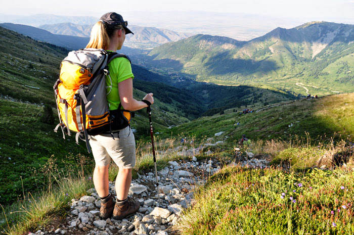 Hiking in National park Pelister