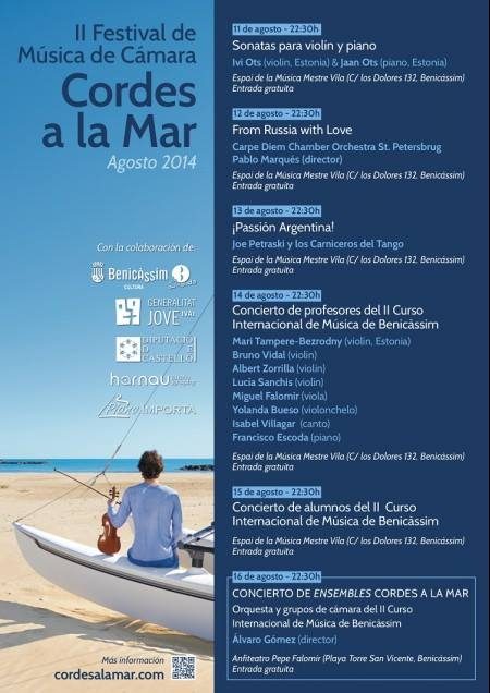 cordes a la mar cartel 2014