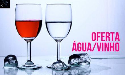 Oferta Água e Vinho Incluido 2019